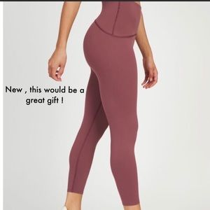 New With tags Spanx Leggings Midnight Rose